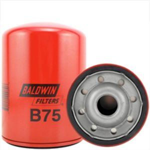 Baldwin B75 Full-Flow Lube Spin-on Filter - Hitachi EX200LC-5